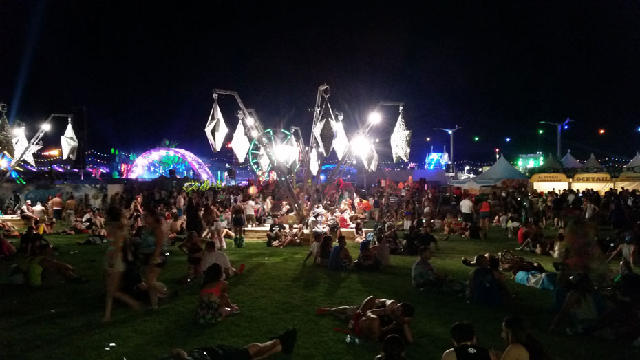 Chill Out Area at EDC Las Vegas 2015